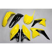 Ufo Kit Plastiche Suzuki Rmz 250 14-16 Giallo