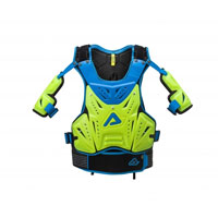 Acerbis Cosmo Mx 2.0 Fluo Yellow Blue Chest 2018