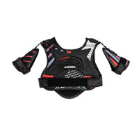 Acerbis Cub 2.0 Black Red Junior Chest Protector Kid