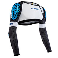 Acerbis Galaxy Body Armour White Blue