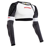 Acerbis Galaxy Body Armour White Black