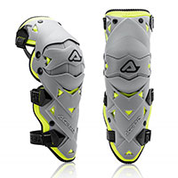 Acerbis Impact Evo 3.0 Knee Guard Grey Yellow