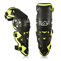 Acerbis Impact Evo 3.0 Knee Guard Black Yellow