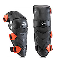 Acerbis Impact Evo Junior Knee Guards Black Kid