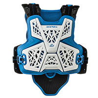 Acerbis Jump Mx Chest Protector White Blue