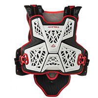 Acerbis Jump Mx Chest Protector White Black