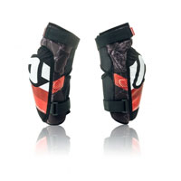 Acerbis Soft 3.0 Junior Knee Guards Black Red 2018 Kid