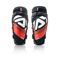 Acerbis Soft 3.0 Junior Knee Guards Black Red 2018 Kinder