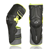 Acerbis X Strong Level 2 Knee Guards Yellow