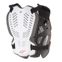 Alpinestars A-1 Plus Chest Protection White Red
