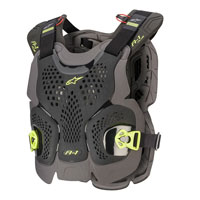 Alpinestars A-1 Plus Chest Protection Black Yellow