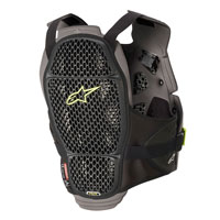 Alpinestars A-4 Max Chest Protection Black Yellow