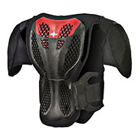 Alpinestars A-5 S Youth Body Armour Black Red Kid
