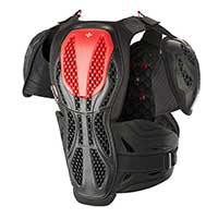 Alpinestars Bionic Chest Protector Red Black