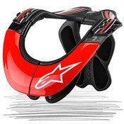 Alpinestars Bionic Neck Support Tech Carbon