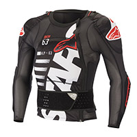 Alpinestars Sequence Ls Protection Jacket White Red