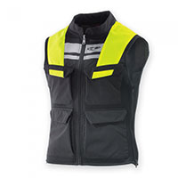Clover S-w Vest Black Yellow