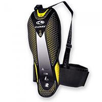 Protector de espalda Clover Back Pro 5 negro amarillo