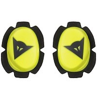 Dainese Pista Knee Slider Yellow