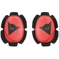 Dainese Pista Knee Slider Fluo Red