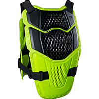 Fox Raceframe Impact Protection Yellow Fluo