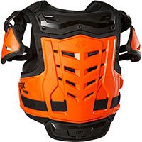 Fox Raptor Vest Ce Black Orange
