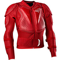 Fox Titan Sport Protection Jacket Red