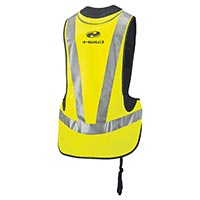 Held Air Vest protector inflable negro amarillo