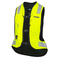 Helite E-turtle Airbag Vest Hi-vis Yellow