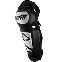Leatt 3.0 Ext Knee Guards White Black