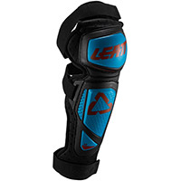 Leatt 3.0 Ext Knee Guards Fuel Blue Black