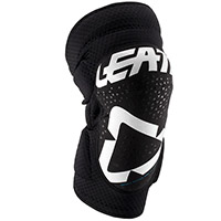 Leatt 3df 5.0 Zip Knee Guards White Black