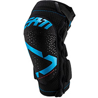 Leatt 3df 5.0 Zip Knee Guards Fuel Blue Black