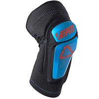 Leatt 3df 6.0 Knee Guards Fuel Blue Black