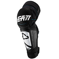 Leatt 3df Hybrid Ext Knee Guards White Black