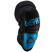 Ginocchiere Leatt 3df Hybrid Fuel Blu Nero
