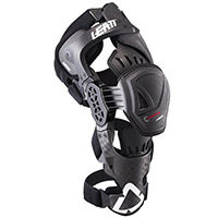 Leatt C Frame Pro Carbon Knee Guards Pair Black