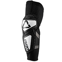 Leatt 3df Contour Elbow Guards White Black
