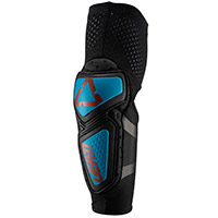 Leatt 3df Contour Elbow Guards Fuel Blue Black