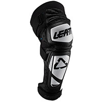 Leatt Ext Knee Guards White Black