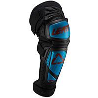 Leatt Ext Knee Guards Fuel Blue Black
