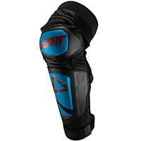 Leatt Ext Knee Guards Fuel Blue Black