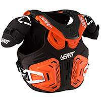 Gilet De Protection Leatt Fusion 2.0 Junior Orange