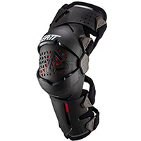 Leatt Z Frame Junior Knee Brace Pair Black Kid