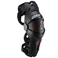 Leatt Z Frame Knee Guards Pair Black