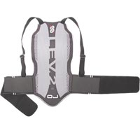 Oj Back Tech Protector 845 Gray Black