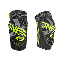 O Neal Dirt Youth Knee Guards Yellow Kid