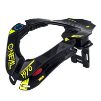 O'neal Tron Neckbrace Assault Black Yellow