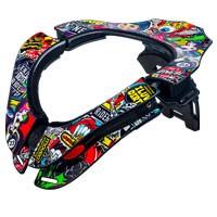 O'neal Supporto Collo Tron Crank Multicolor