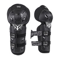O Neal Pro 3 Carbon Youth Knee Guard Black Kinder